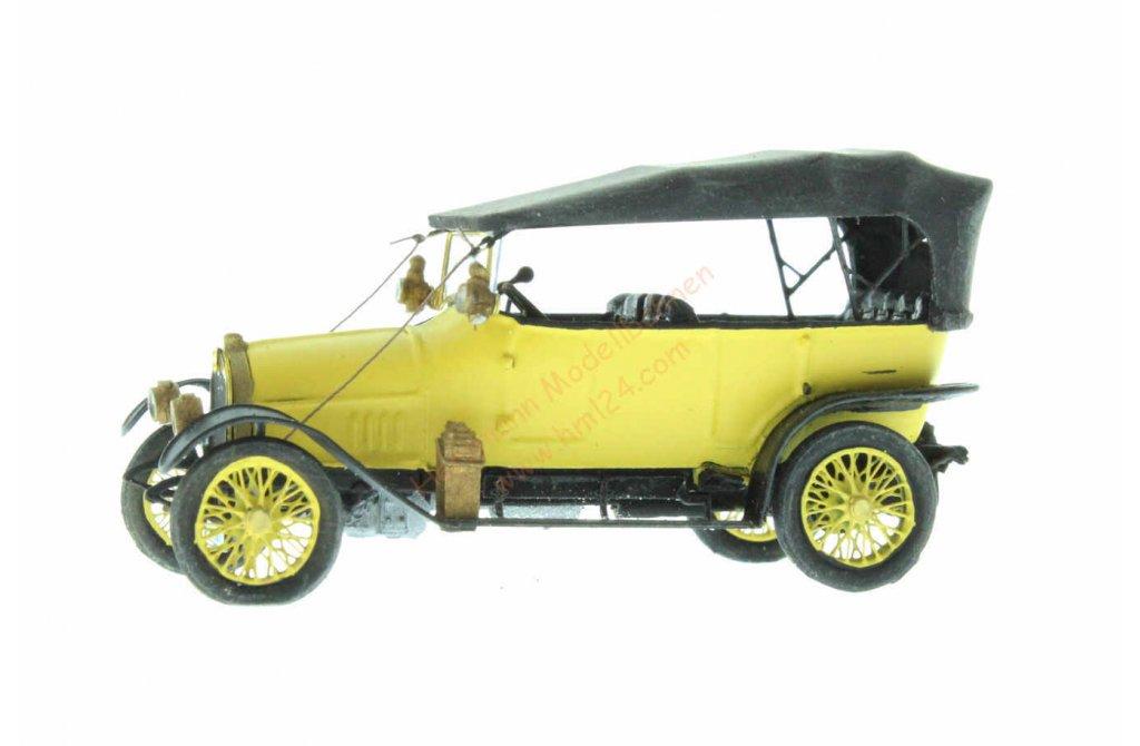 H0 Audi 10//28 zivil gelb Neu Artitec 387.406-1//87