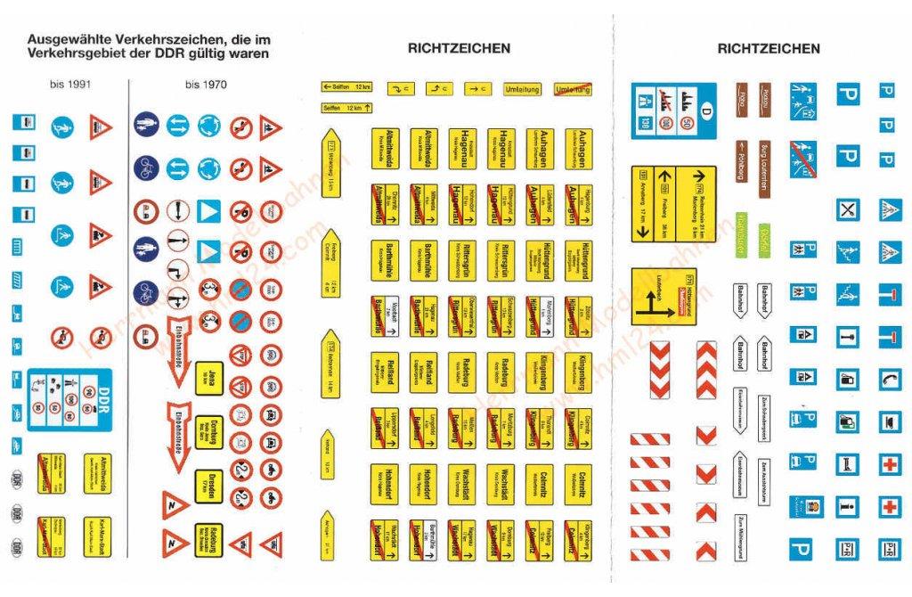 hott verkehrszeichen auhagen 42601