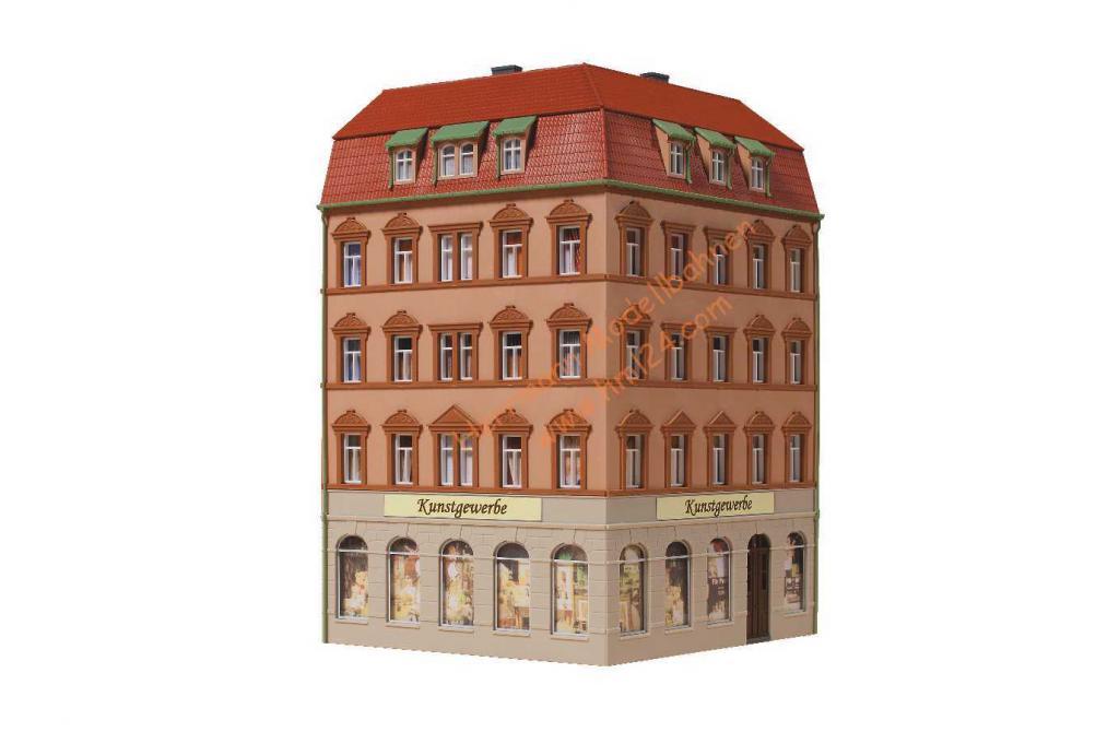 Auhagen 13334 Eckhaus Markt 1