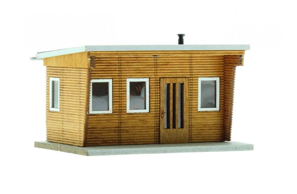 ho holz bungalow busch 1394. Black Bedroom Furniture Sets. Home Design Ideas