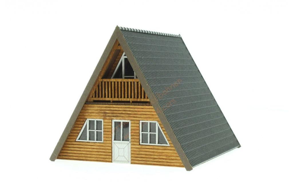 TT Finnhütte helles Holz Busch 8836