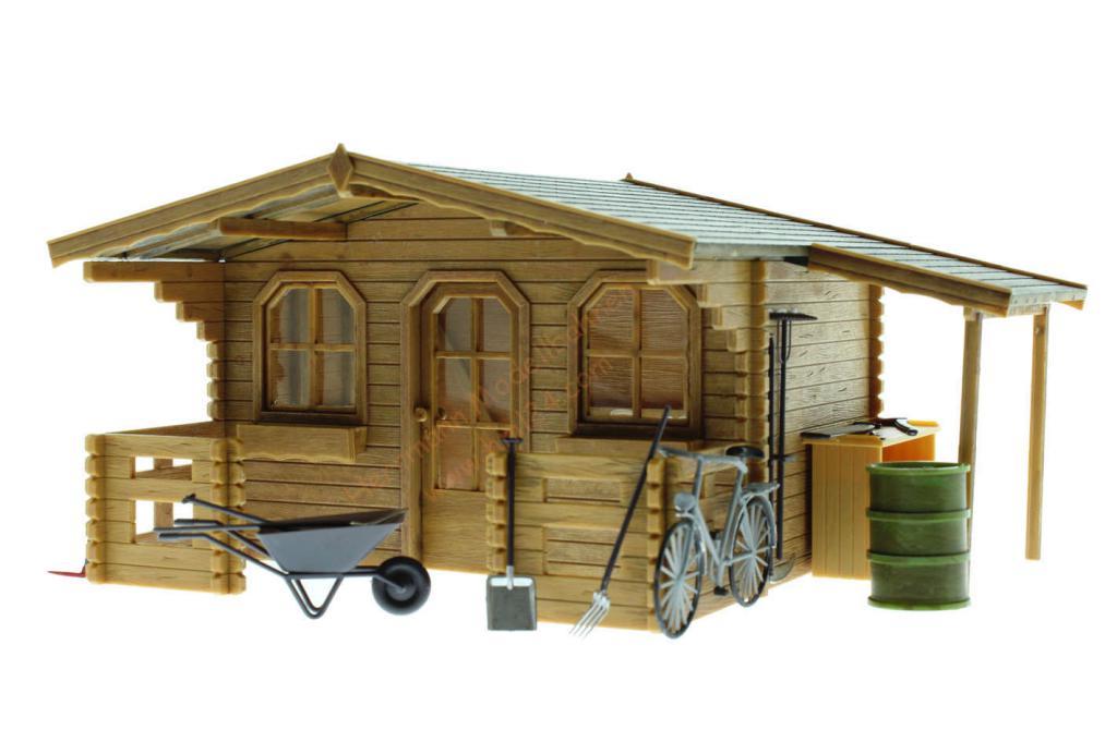lgb gartenhaus faller 331050. Black Bedroom Furniture Sets. Home Design Ideas