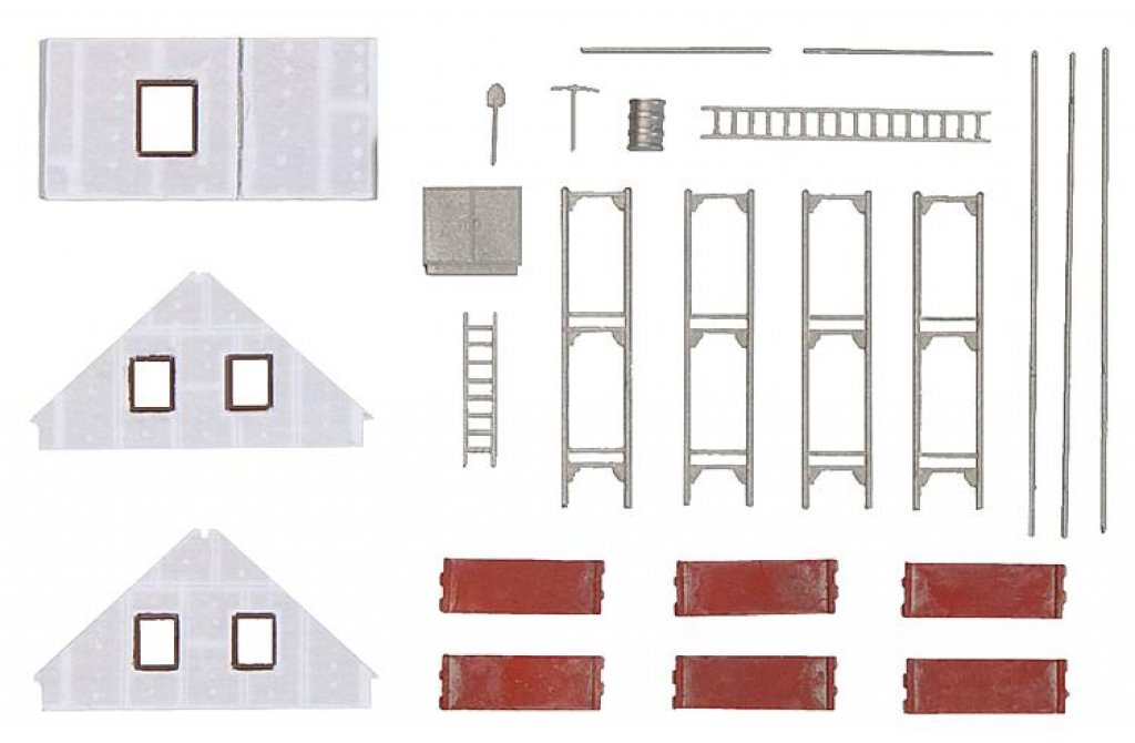 n fertighaus im bau faller 232343. Black Bedroom Furniture Sets. Home Design Ideas