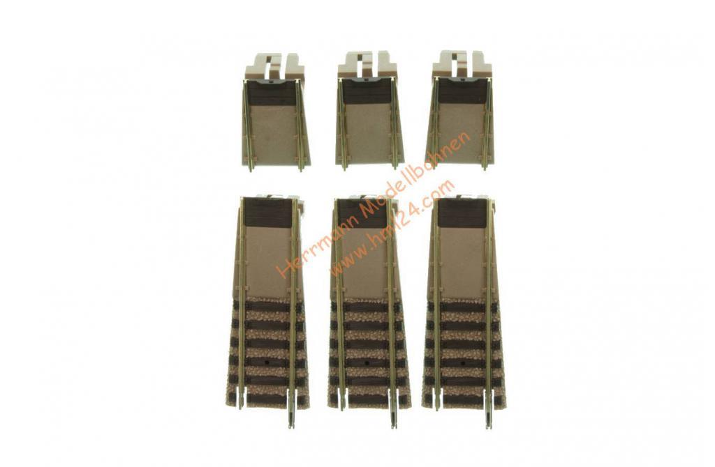 Fleischmann 6153 Ergänzungs-Set für PROFI-Gleis-Drehscheibe 6152C. Neuware.