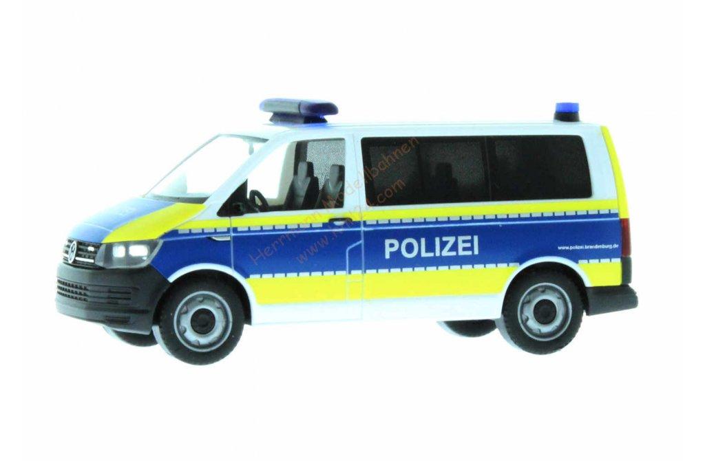 HERPA 092814 VW T6 Bus Multivan Polizei Niedersachsen H0, 1:87 NEUWARE