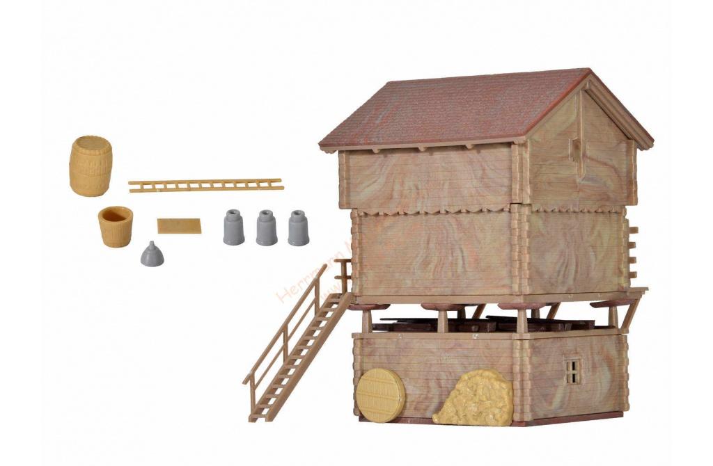 Kibri H0 38035 Stall und Stadel Neuware