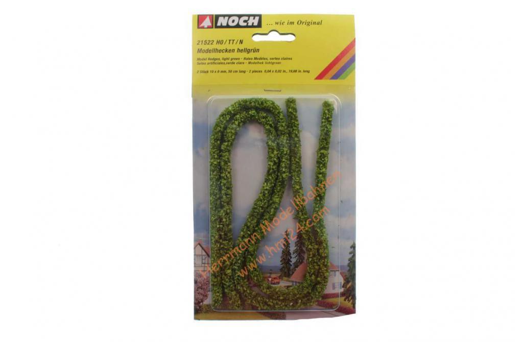 NOCH 21514 Modellhecken 15 x 8 mm H0//TT//N dunkelgrün