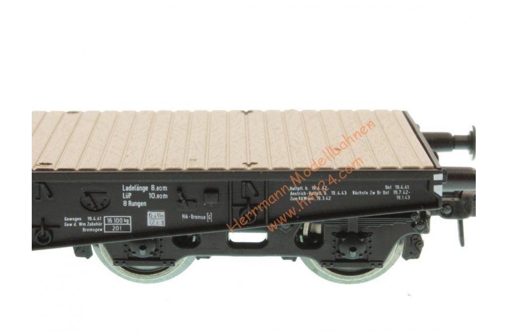 Roco 46385 Güterwagen Schwerlastwagen DRG H0