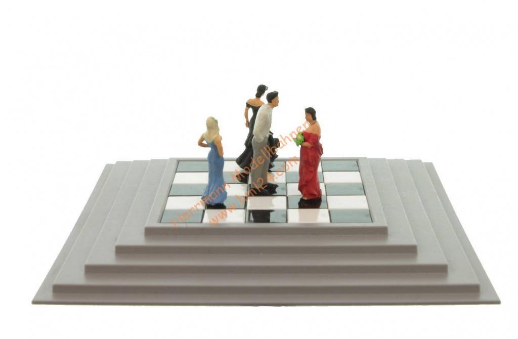 Viessmann HO 5186 Bewegte Welt bewegt Tanzgruppe Neu mit OVP